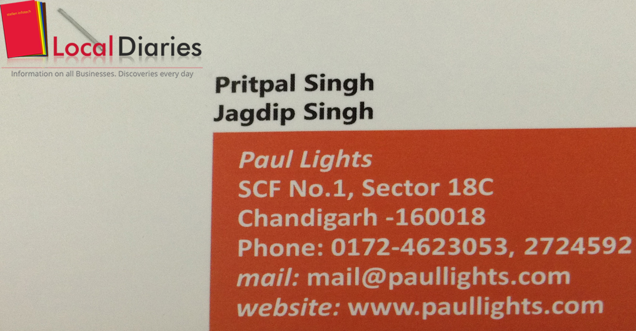 Lighting And Accessories Manufacturers In Chandigarh Localdiaries Wiring Harness Gurgaon Paul Lights