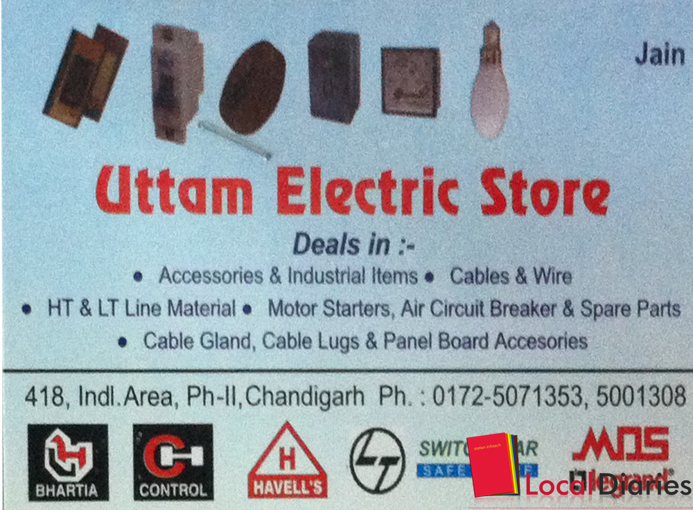 Uttam Electric Store In Industrial Area Phase 02