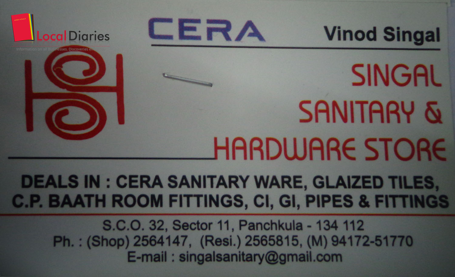 Bathroom fitting manufacturers - Singal Sanitary And Hardware Store